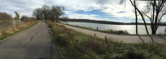 Photo:  Gray's lake run