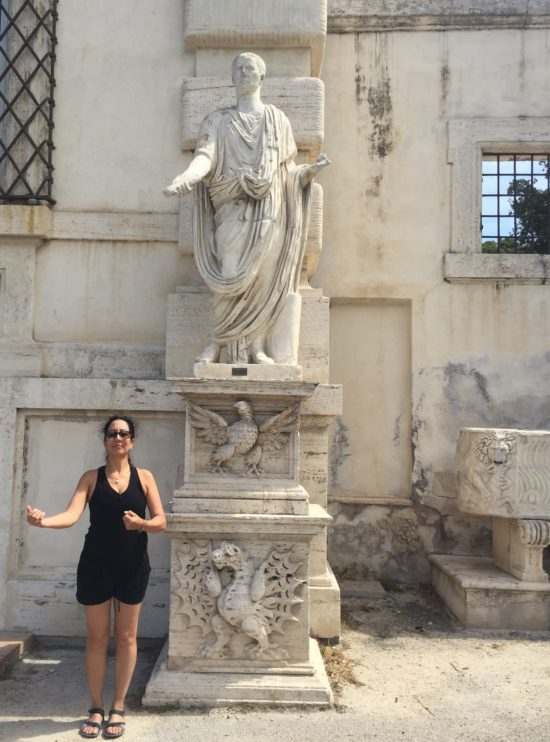 Photo: Me with an Italian Emperor