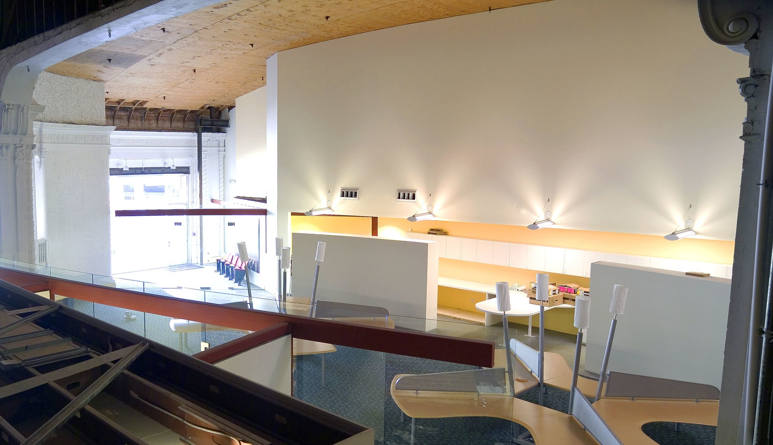 - Overview of the office area