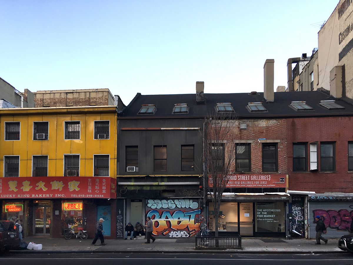 Lower East Side + Chinatown