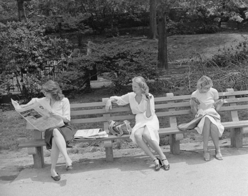 Tod Papageorge, Central Park, New York