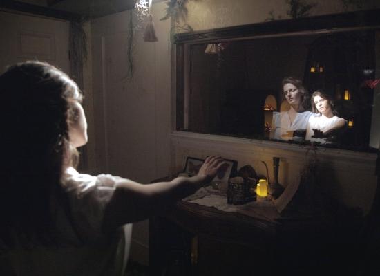 "Marissa Neilson-Pincus (as Alice) and Tara O'Con (as Alice) in ""Then She Fell."" (Photo by Chad Heird).jpg"