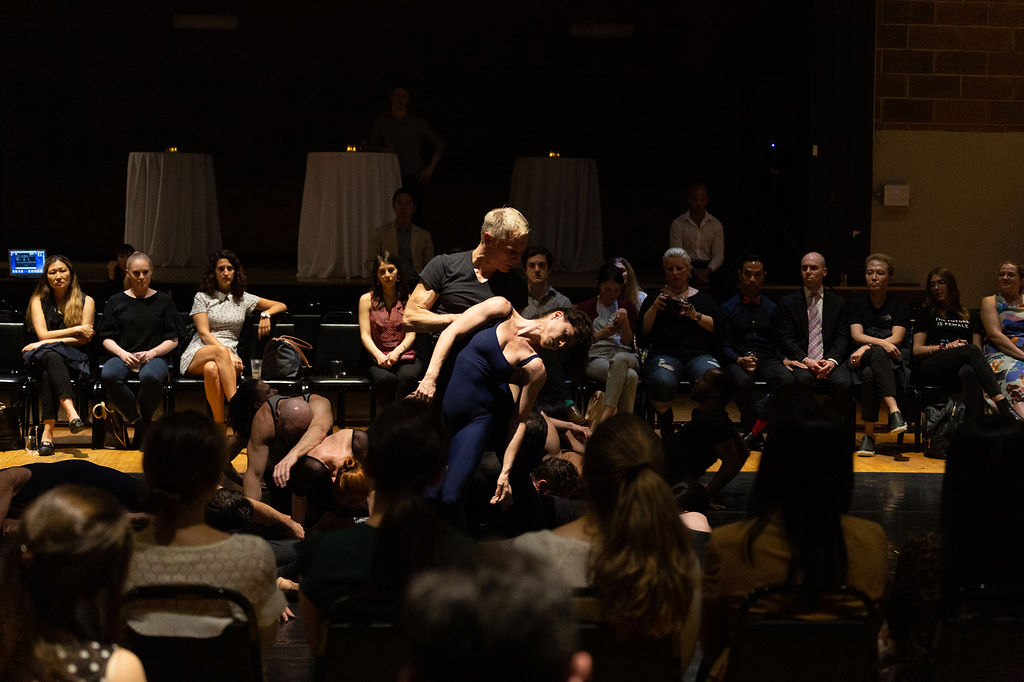 Modern Masterpieces, Fresh Perspectives - May 16, 2019Lincoln Center Young Patrons hosted an evening of dance and discussion, led by 20-year Taylor company veteran Michael Trusnovec, in the intimate setting of The Aula in SoHo.View photo gallery