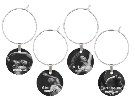 Dichotomies (A) Set of 4 Wine Glass Tags - $20.30 + tax and shipping