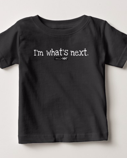 Kid's tee, white text (select tee option when ordering) - $25.25 + tax and shipping