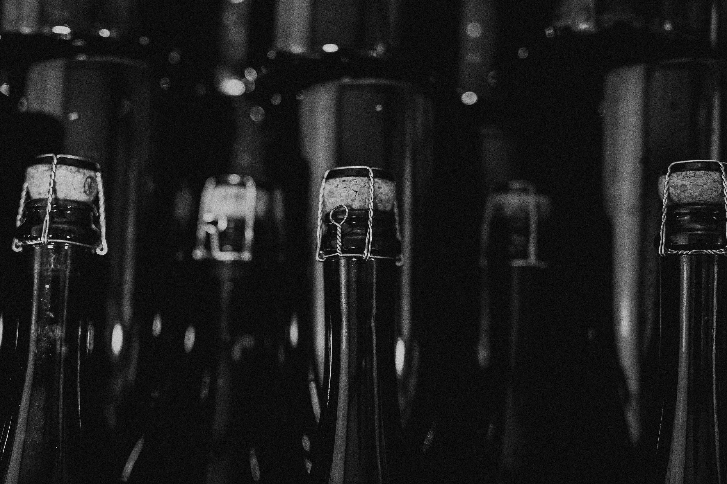 MJ Sparkling bottles