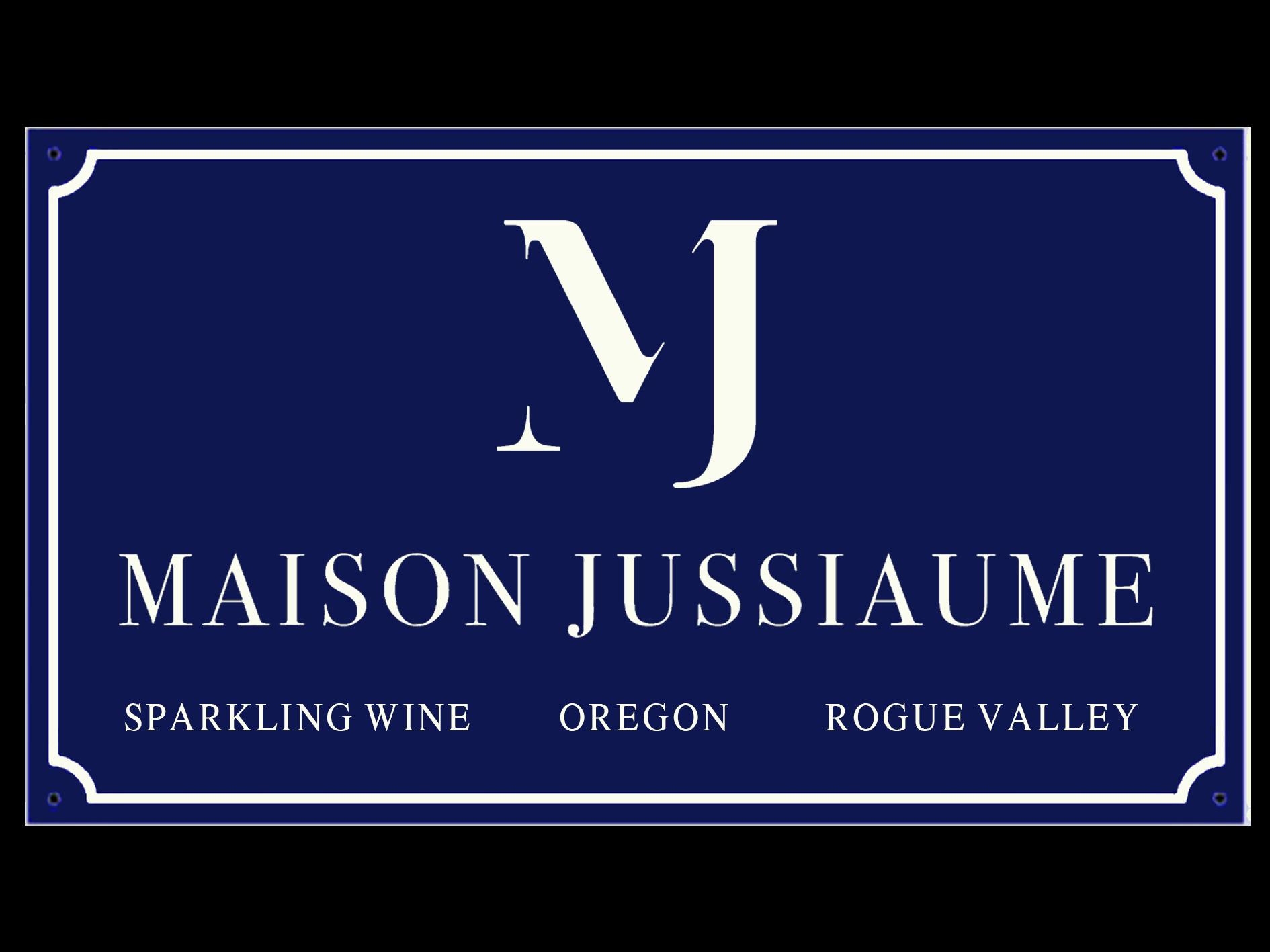 MJ Sparkling blue sign