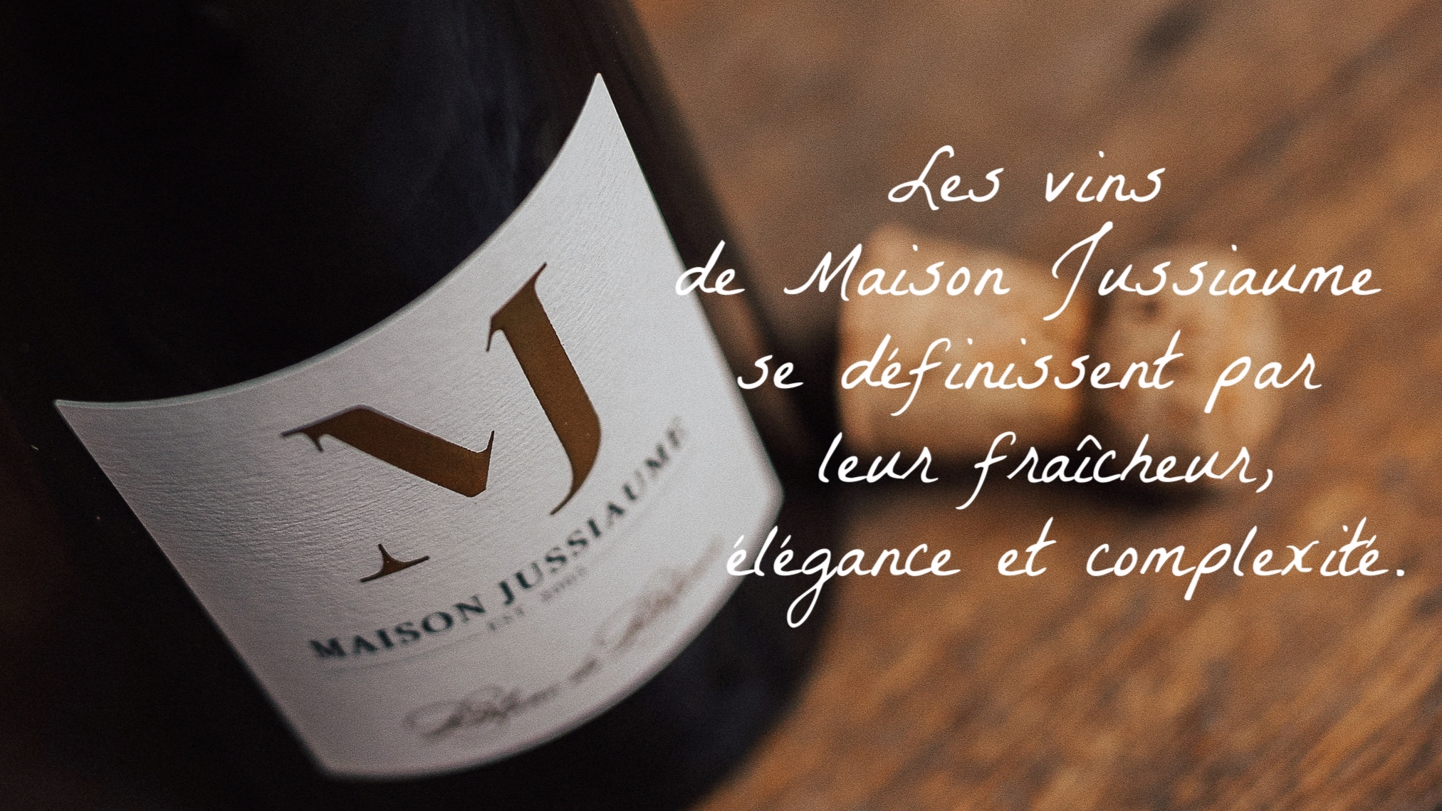 """The wines of the Loire Valley shaped my memories and my palate, and I continually strive for that same freshness, elegance and complexity in every bottle.""  Winemaker Jean-Michel Jussiaume"