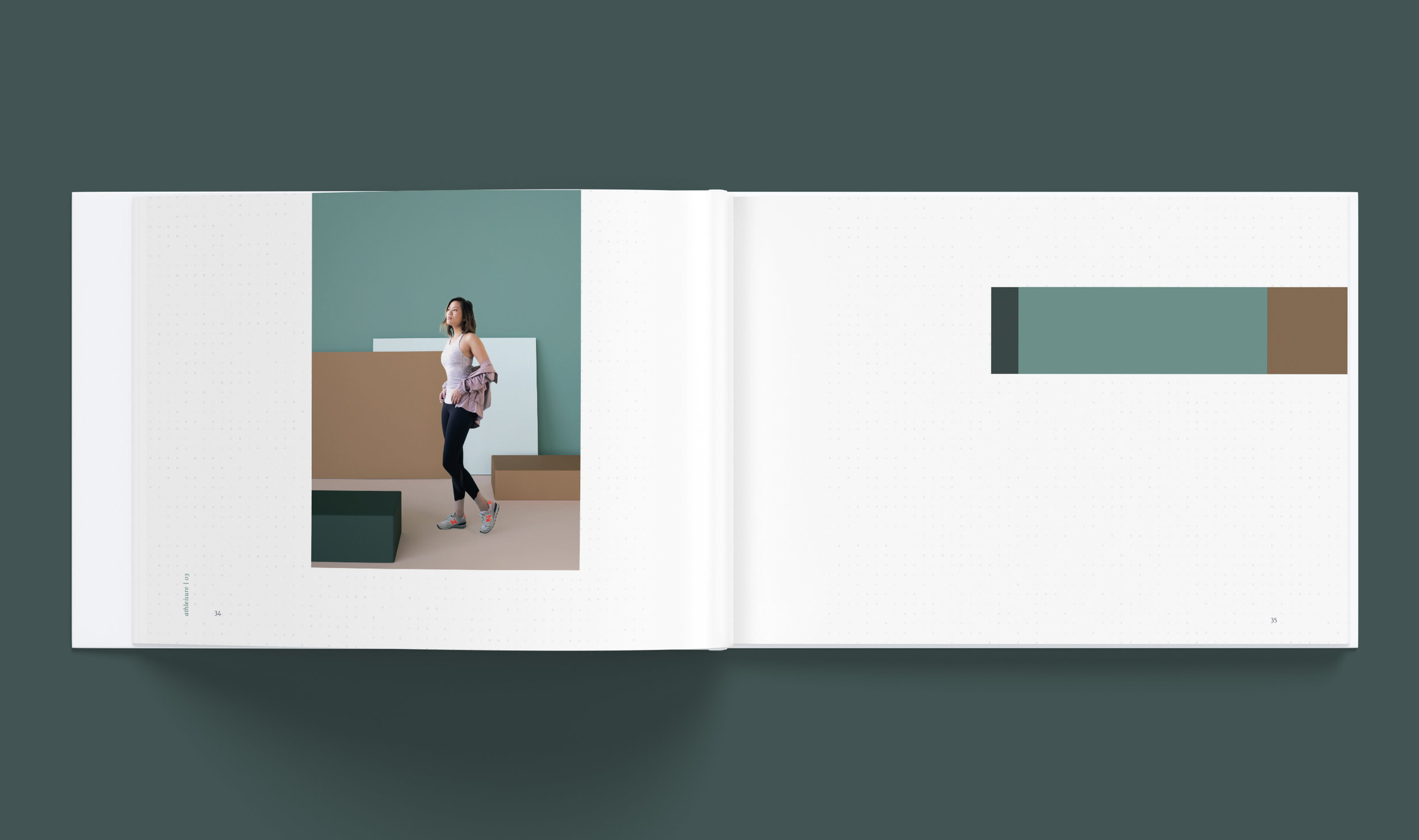 Select spread from The Athleisure section