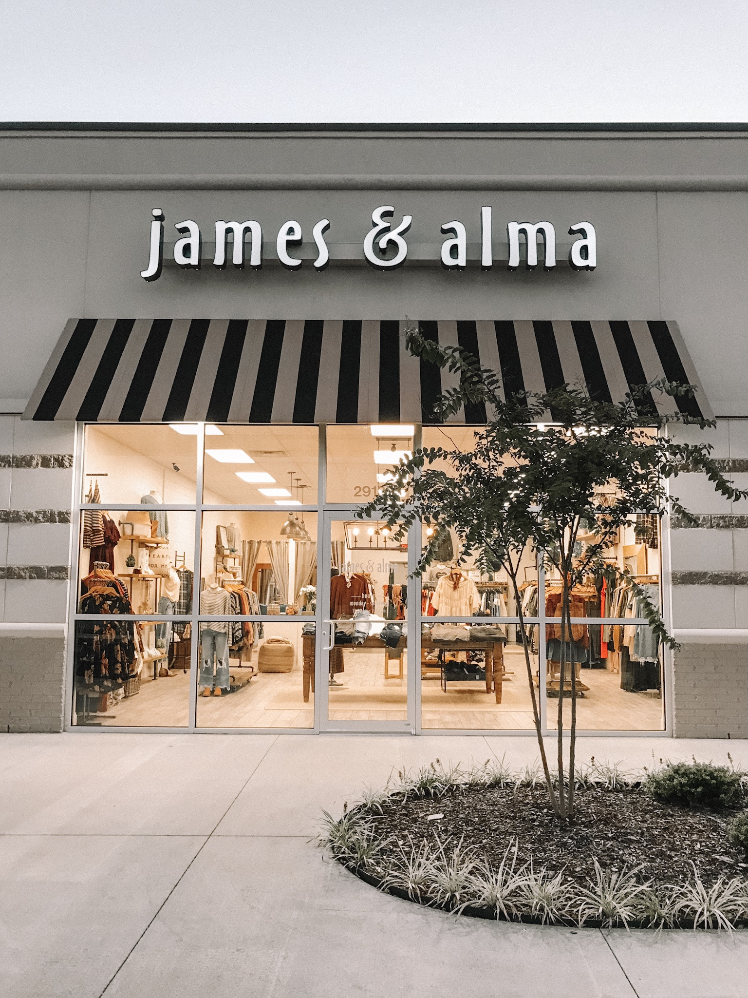 - When it comes to fashion and clothing, the industry runs in our blood. Named after our grandparents, James + Alma Underwood were business owners making and designing their own clothes more than four decades ago. Alma was a talented seamstress who owned