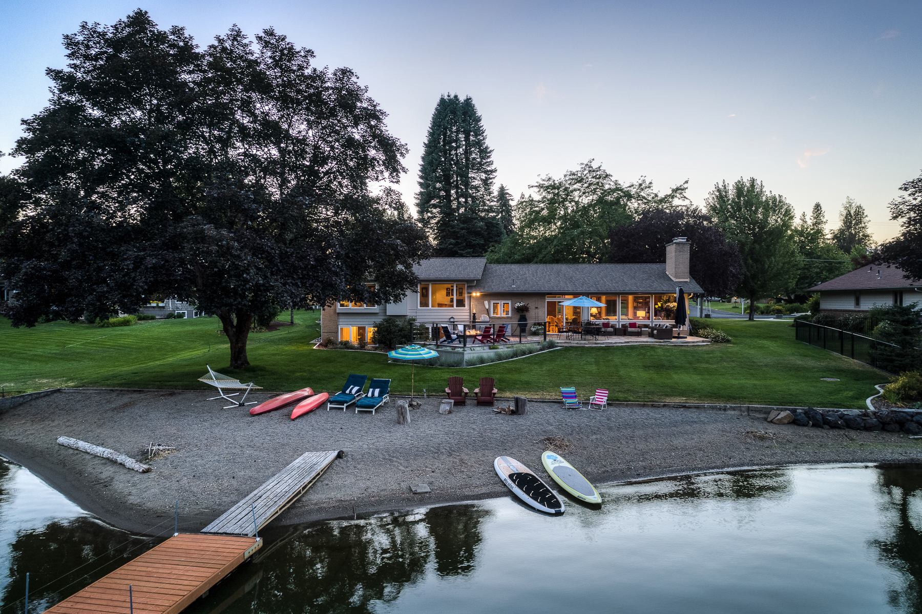 Aerial photos are great for waterfront homes!