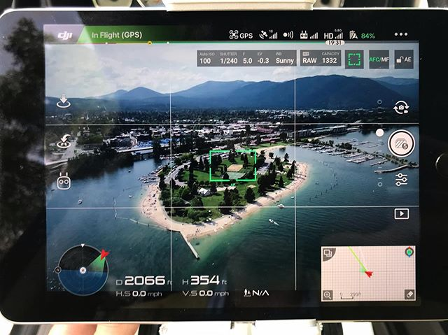 New stock photos coming soon! #Aerial #Drone #BehindTheScenes #Sandpoint #Idaho #LakePendoreille #McCallMedia #HustleGrindRepeat