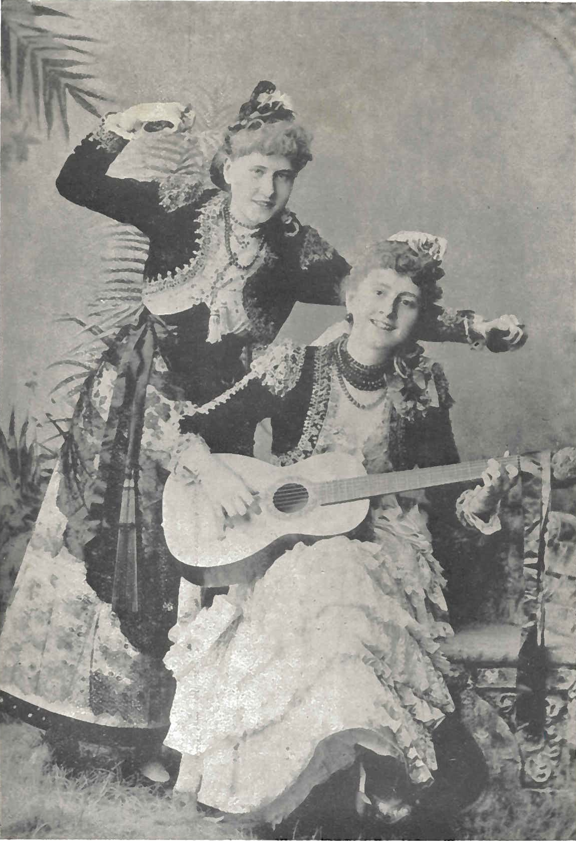 Alice and Rita Lawrence.