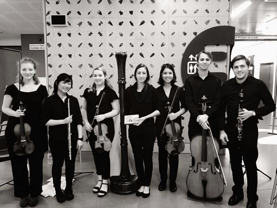Performance of Ravel's Introduction and Allegro at Lady Cilento Children's Hospital, 2016