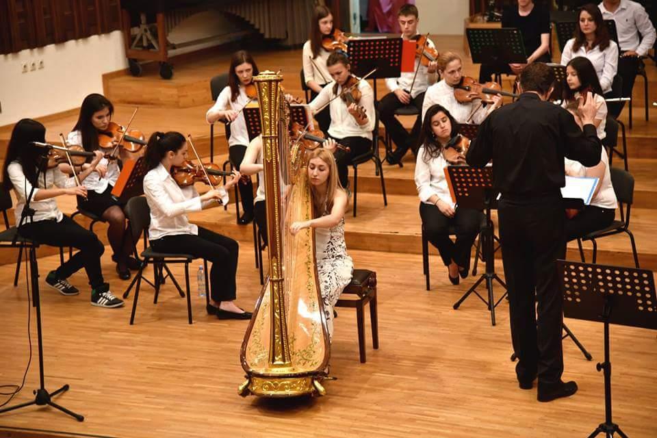 Debussy - Danse sacrée et Danse profane with the Borislav Pašćan Youth Philharmonic, 2015