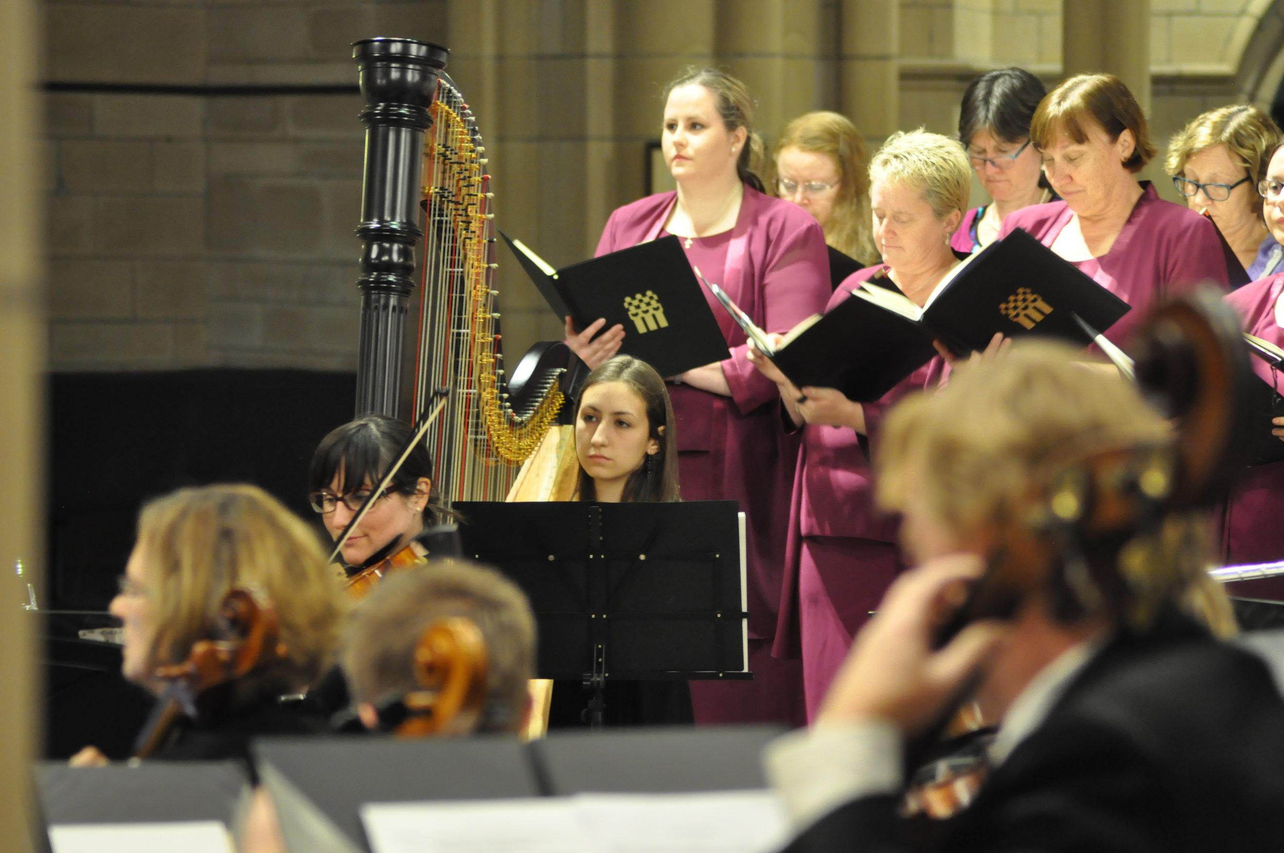 Concert with Qld Choir, 2017