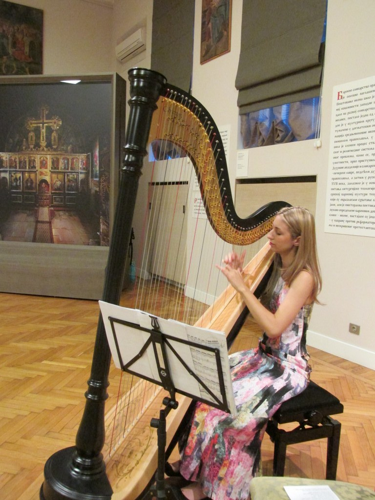 Recital at the Gallery of Matica srpska, 2014