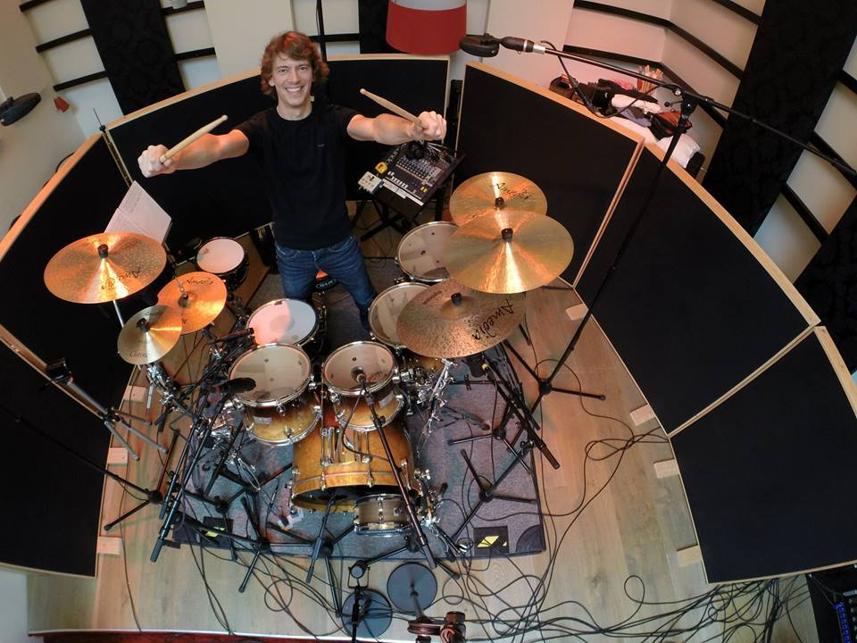 Drum recording les @ Sandlane