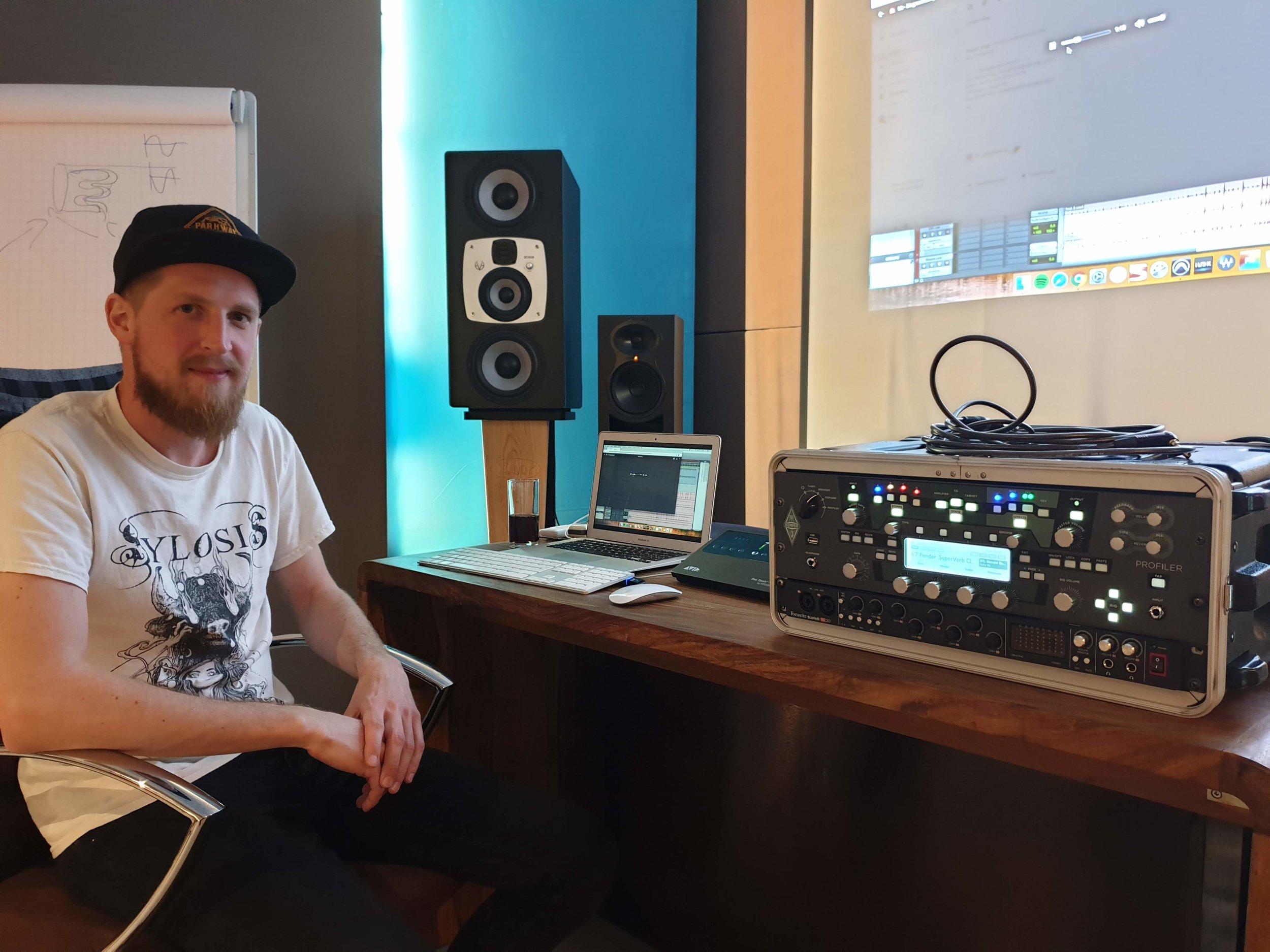 Roelof Klop | Docent opnametechniek metal/rock
