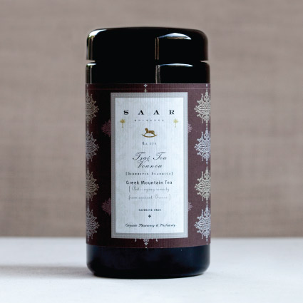 Saar Soleares Organic Tsai VouNou, available in our webshop  www.saarsoleares.com