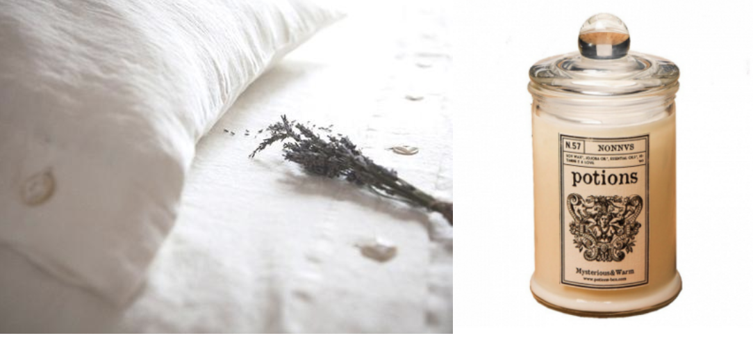 Organic textiles ,                                                                      Organic Sandelwood Candle