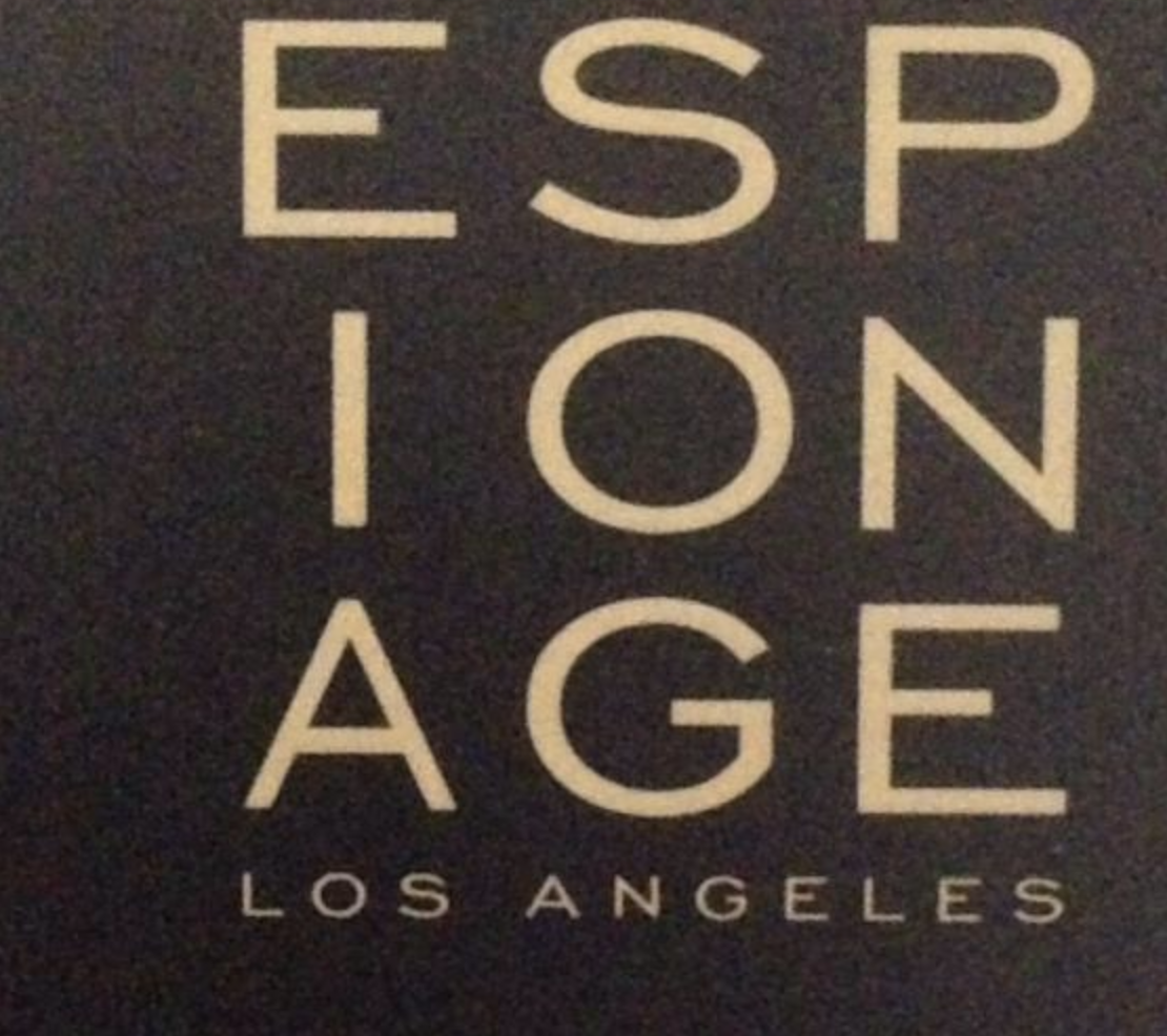 Although our sales trip was cut short and we had so little time, we found this brand new selling point in LA! We hear that the stars do their secret shopping in this avant garde little store......Here you will find from candles to couture and everything in between:   espionagela.com