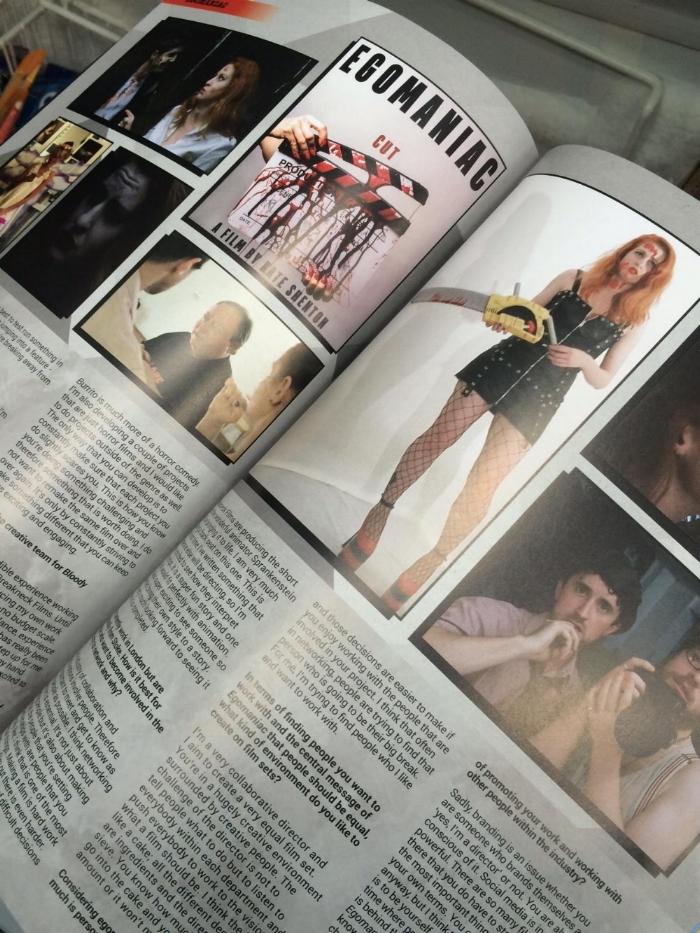 Egomaniac in Starburst Magazine