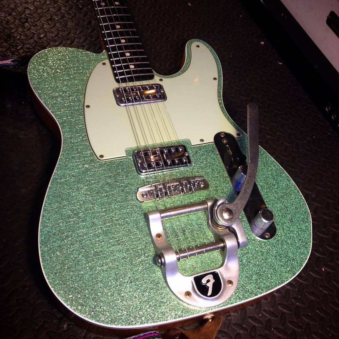 Fender Custom Shop Telecaster, with Mastery Bridge. I Love Mastery!