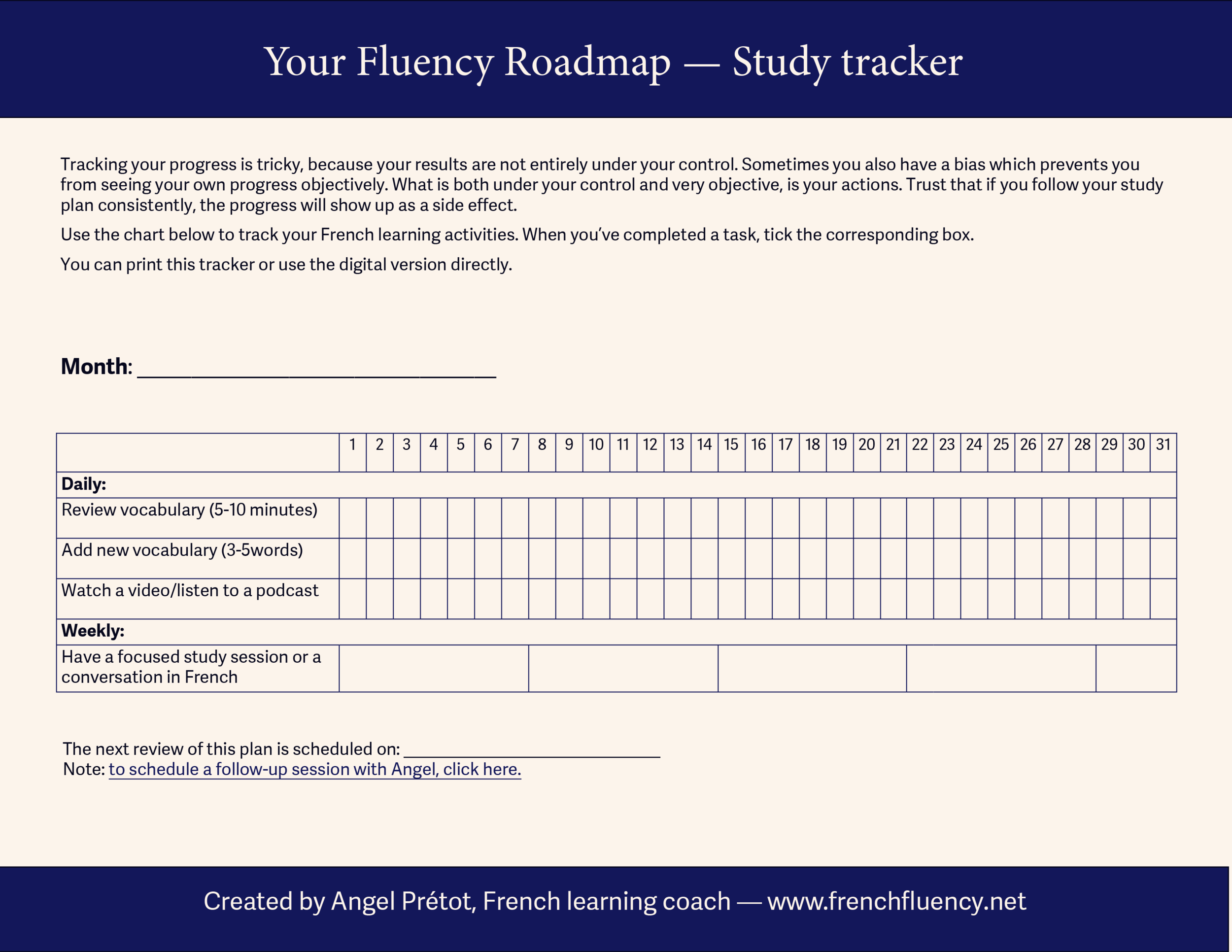 learn French fluency study tracker.png