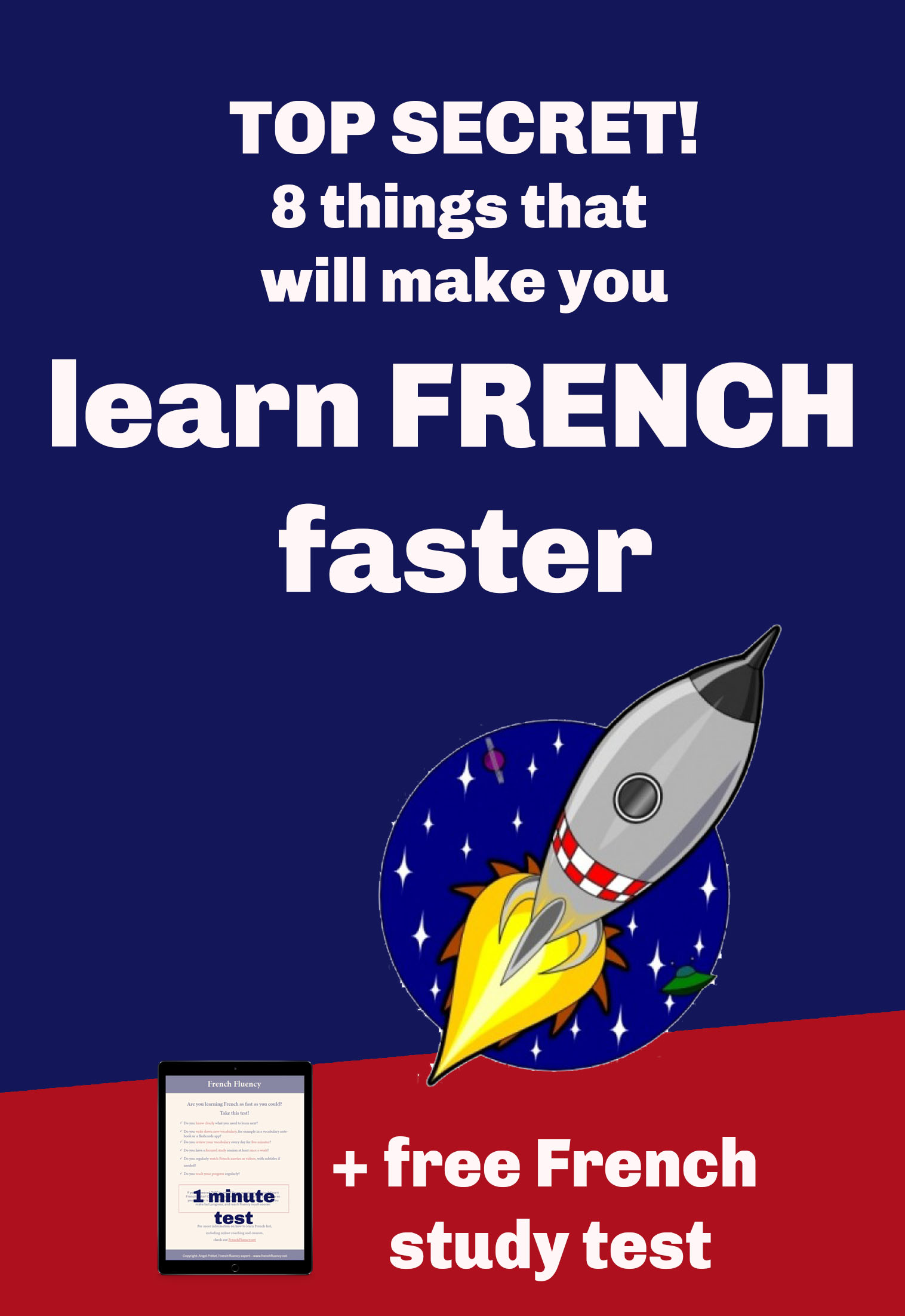 how to learn French fast