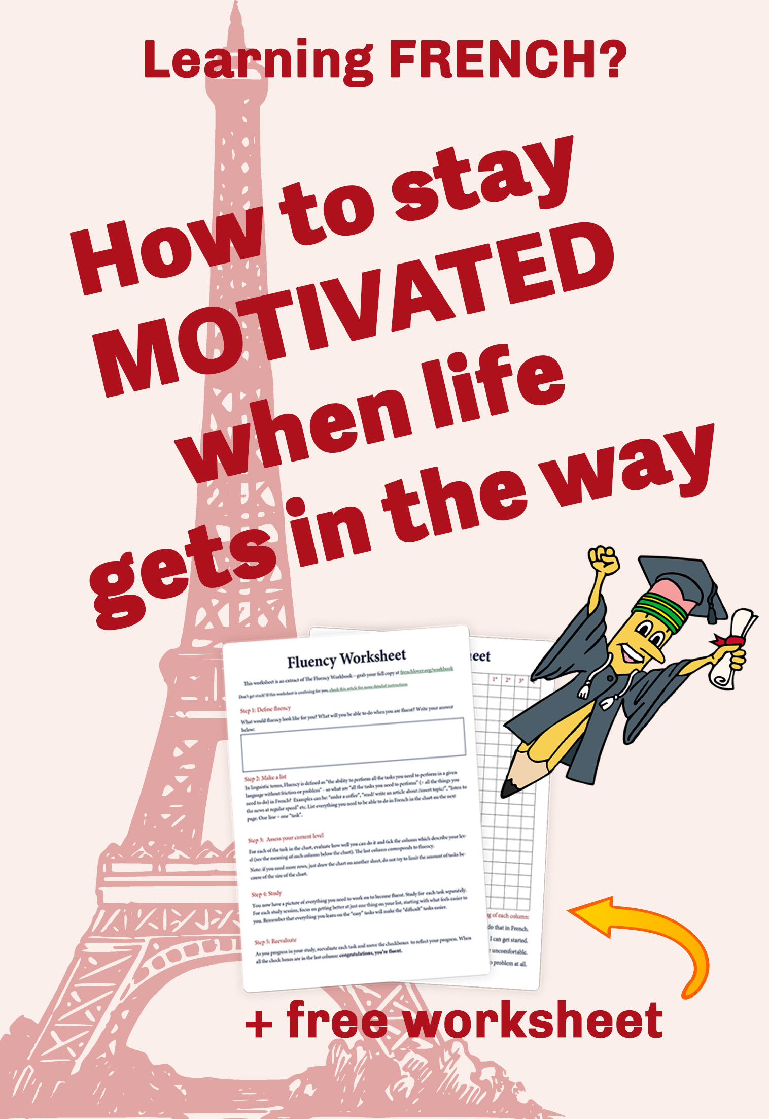 French learning motivation - learn French fast