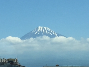 Mount Fuji. Picture: May 2017 HW