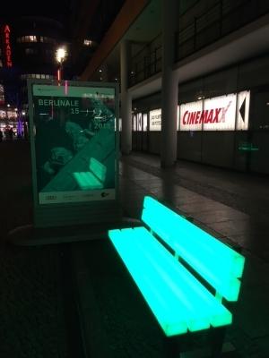 Berlinale, Potsdamer Platz, 2018. Pic: HW