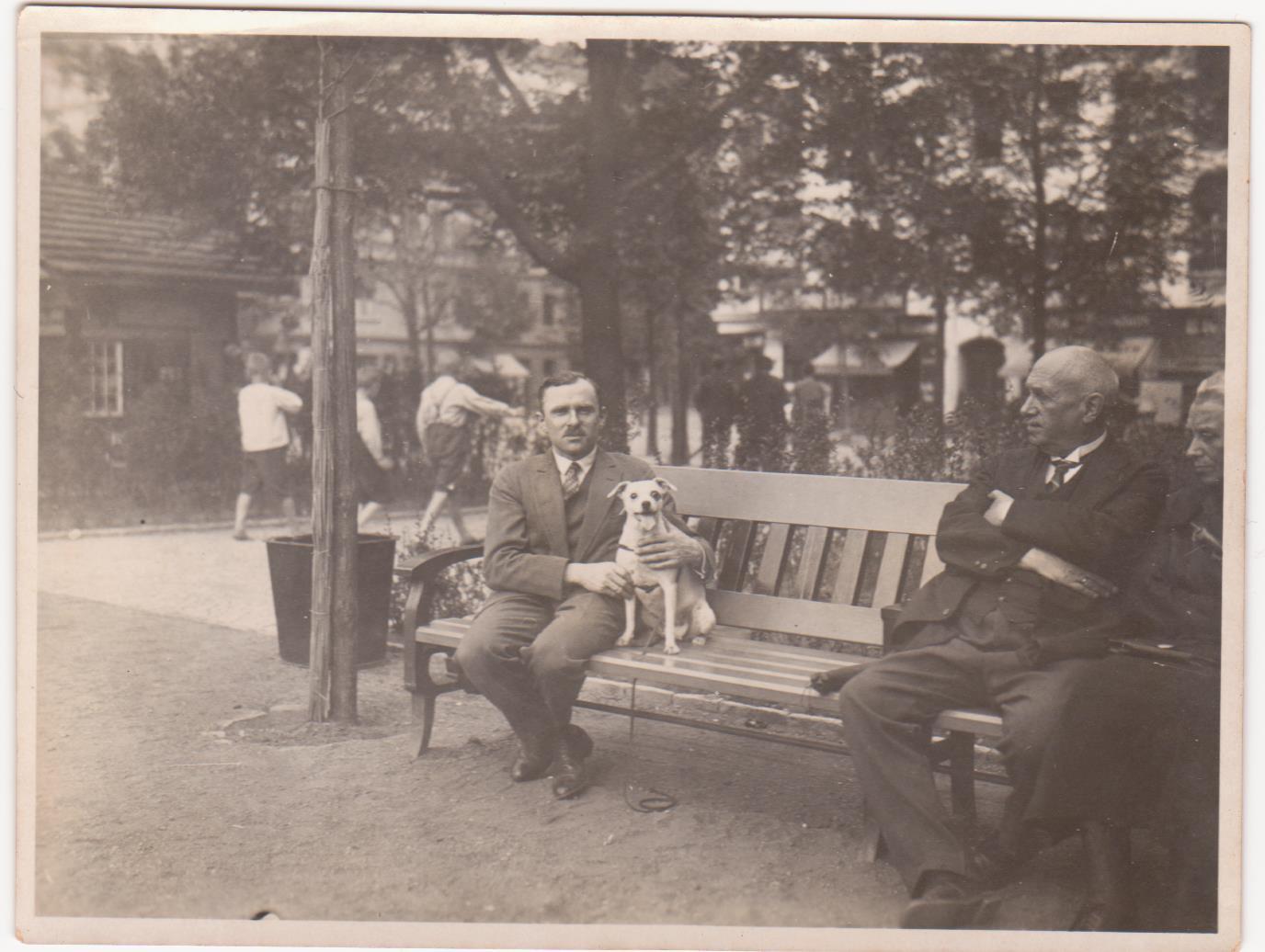 Ludwig's father, Hans Katzenellenbogen, in Berlin in 1930's @Katzenellenbogen family
