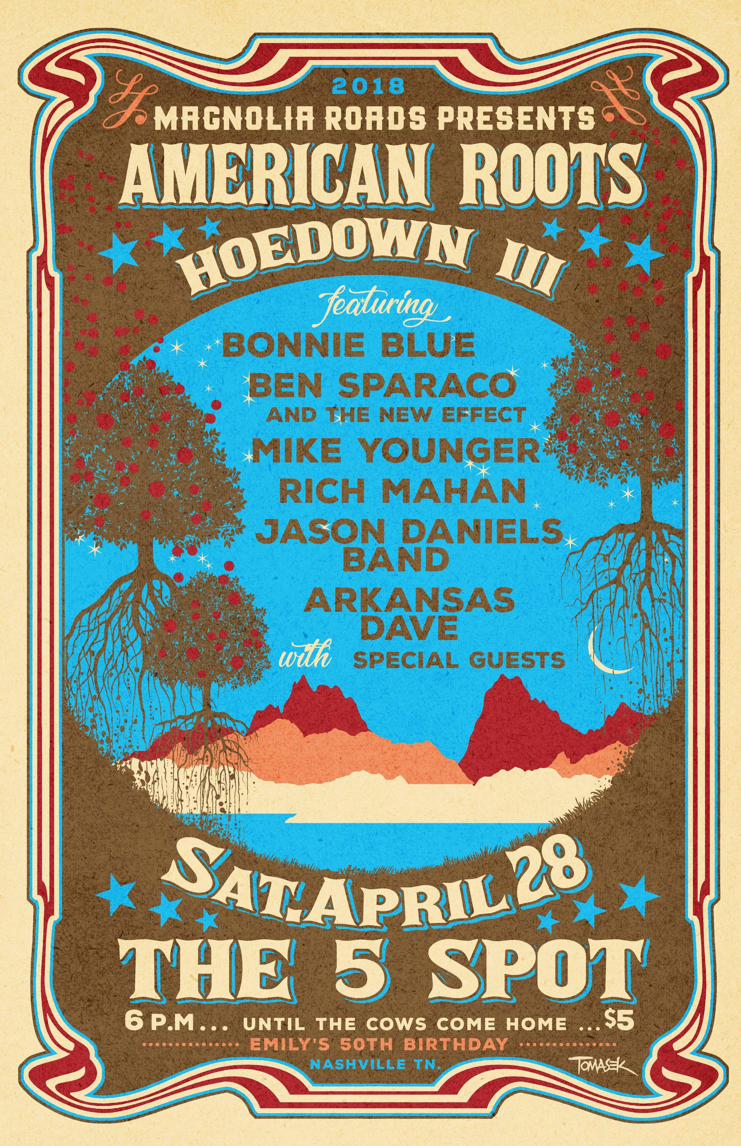 Magnolia Roads American Roots Hoedown III 2018 poster.jpg