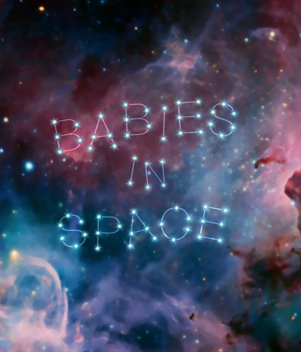 Babies in Space - Light and sound collaboration with Kelly O'Brien and Jane Cassidy. Build out in the Alliance Theatre's Bankoff Gallery. Construction of 12'X8' Velcro wall.