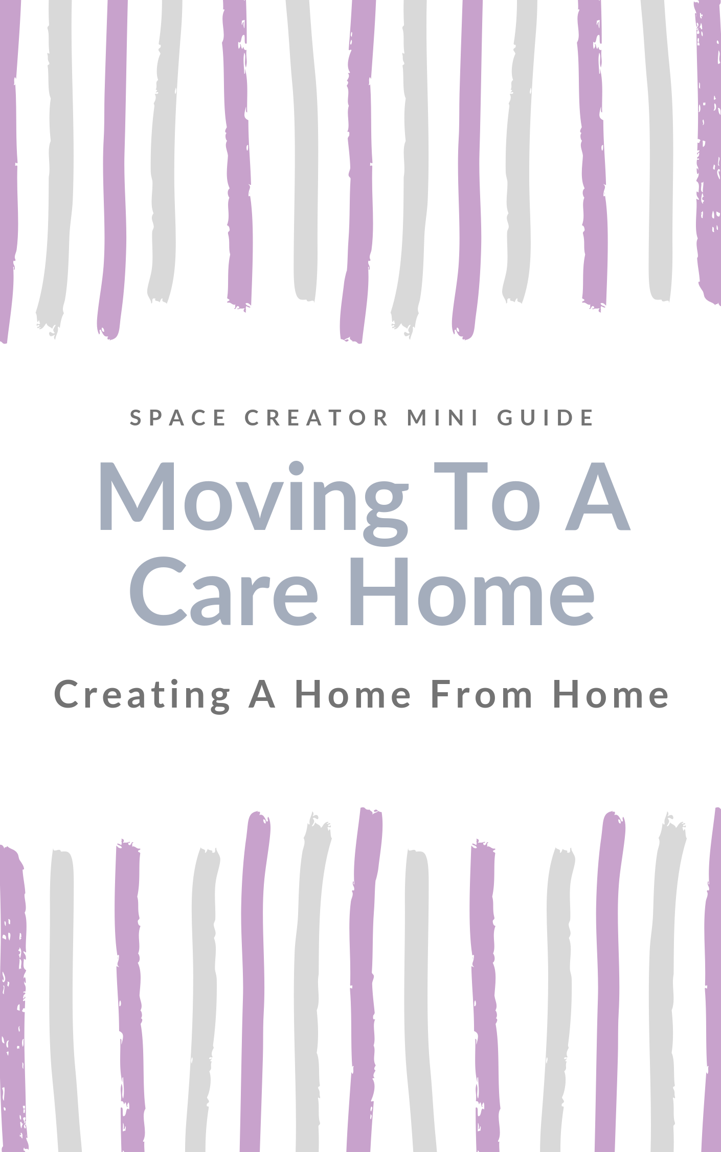 Moving To A Care Home - Moving a relative to a Care Home can feel emotional and you worry they will settle in. I have put together a free mini guide to help you to make it more of a home from home. Link Here