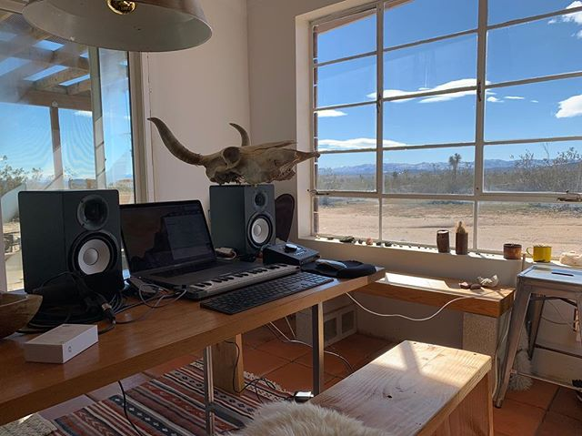 Sounding killer out in the desert #producer #recording #clubdanger #newmusic