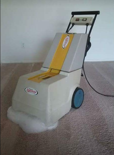 Step 2: Foam-Scrub Cleaning