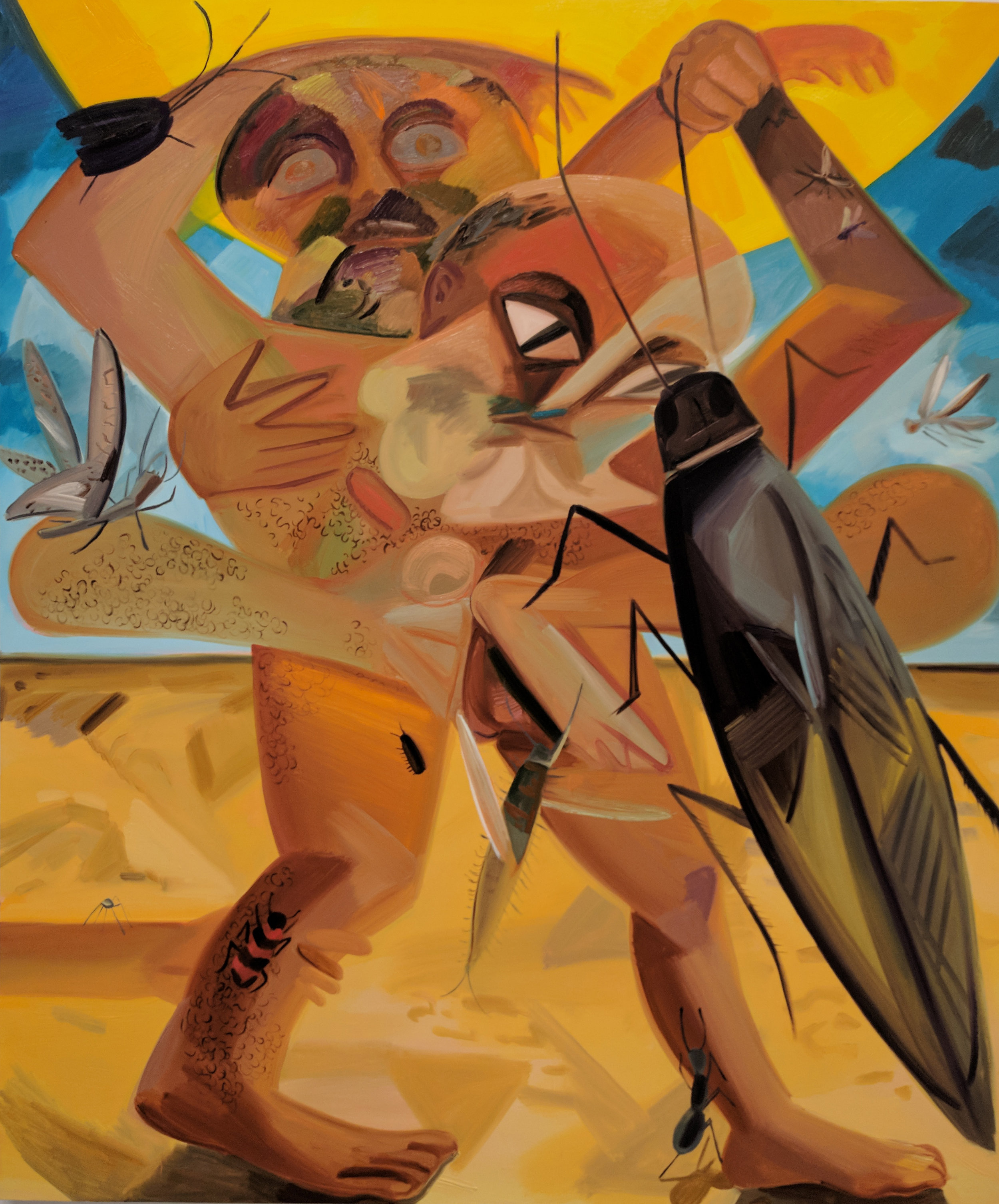 Bugs  by Dana Scutz