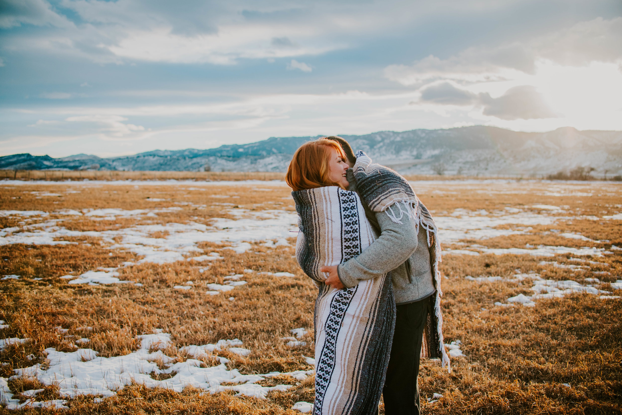 Miss. Miller's Photography | Colorado Mountain Engagement
