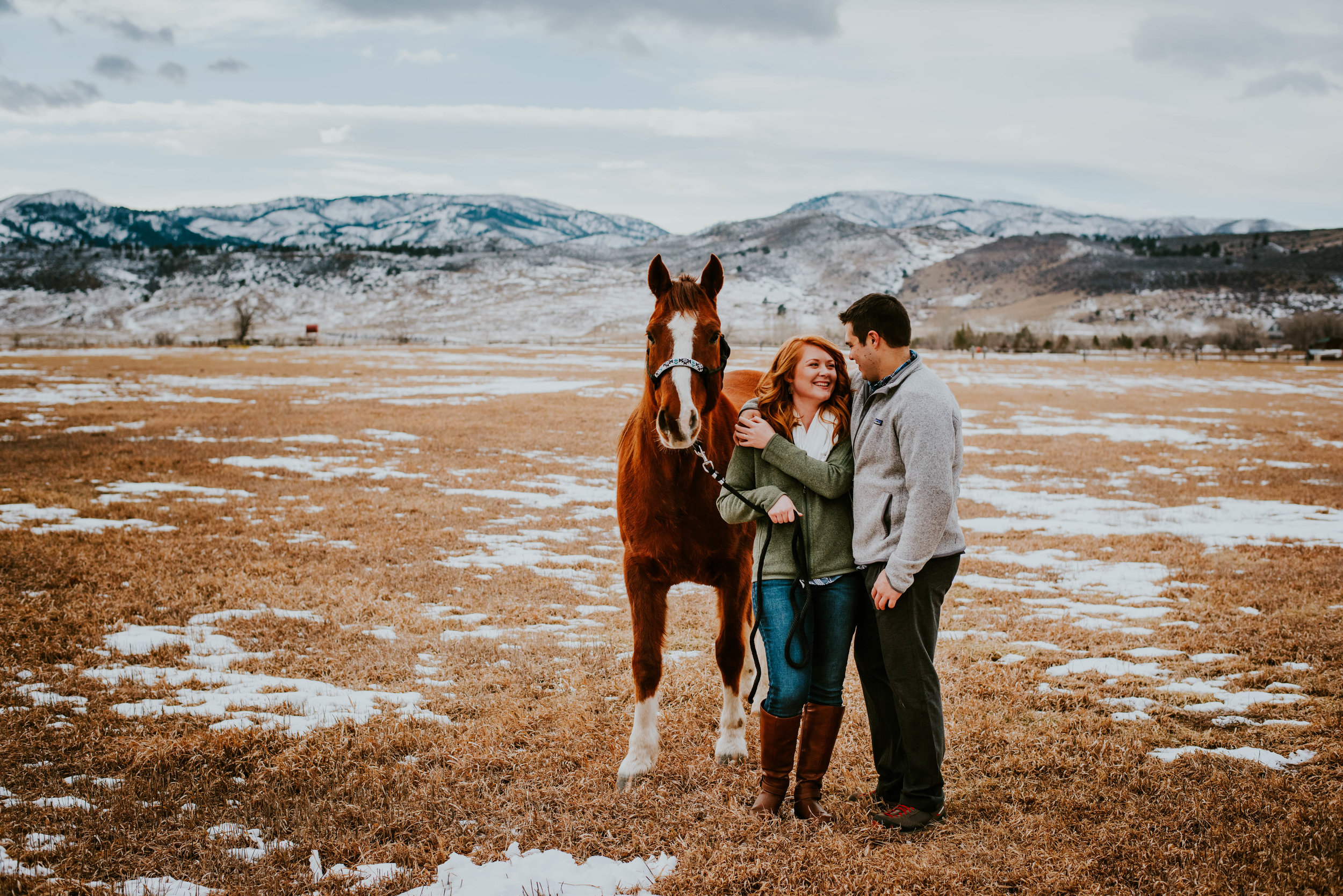 Miss. Miller's Photography | Engagement Photos with Horses