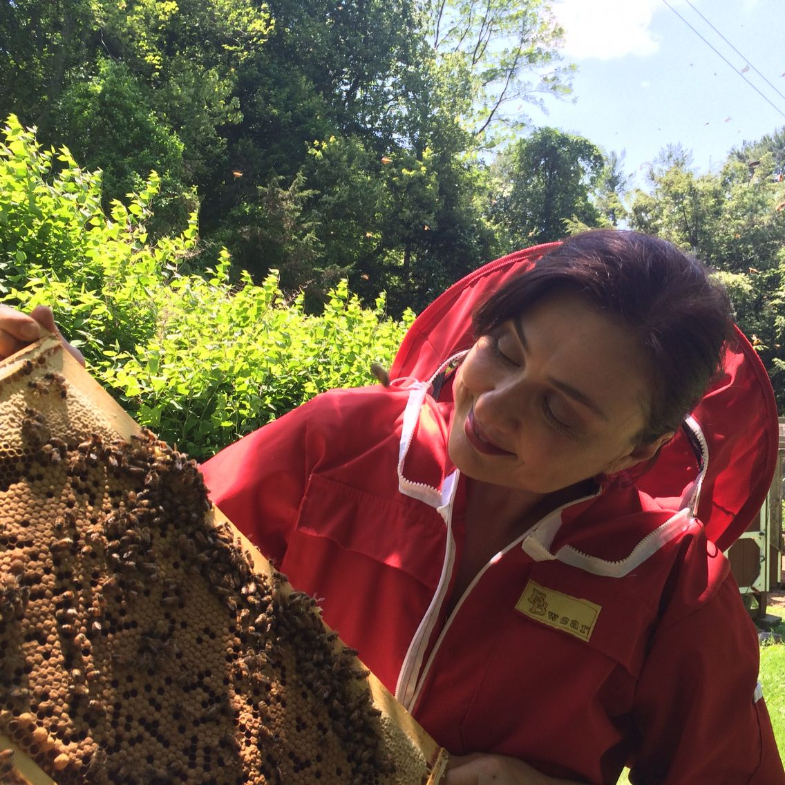 Marena and Bees.jpg