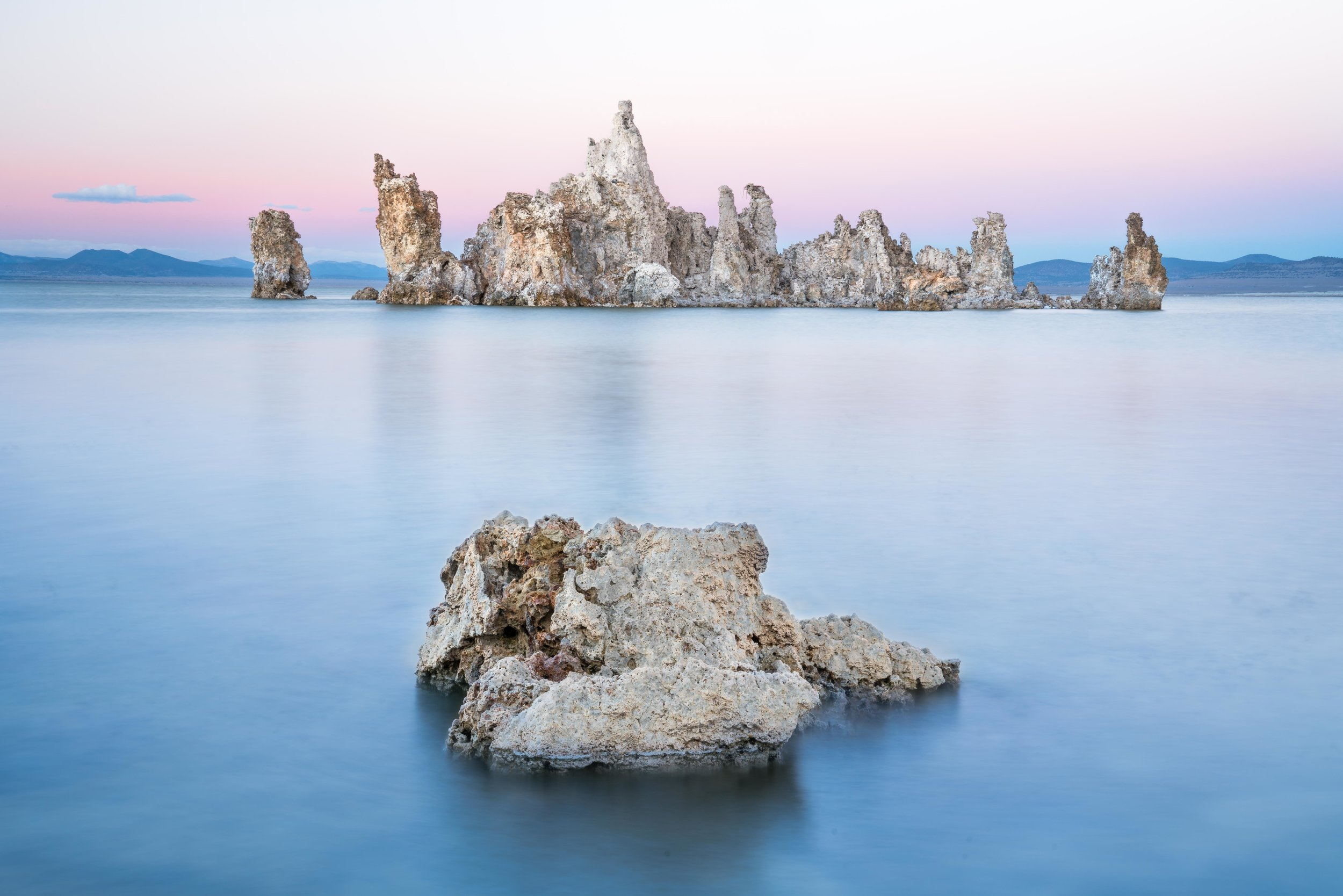Tufa Sunset  Mono Lake, California