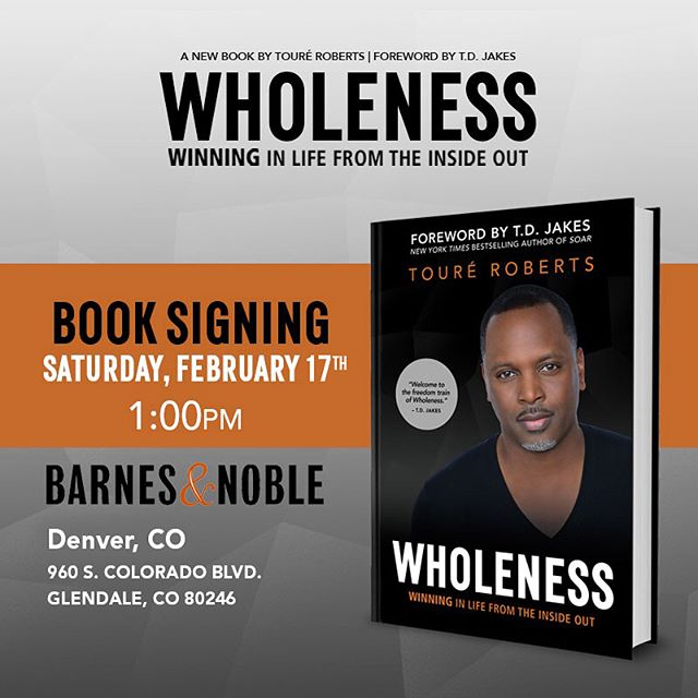 Denver & Atlanta - I've got a date with you. (Swipe left). Denver - I'll see you this Saturday at 1pm. Atlanta - I'll see you next Tuesday in Buckhead at 7pm! #wholenessbook #wholeness