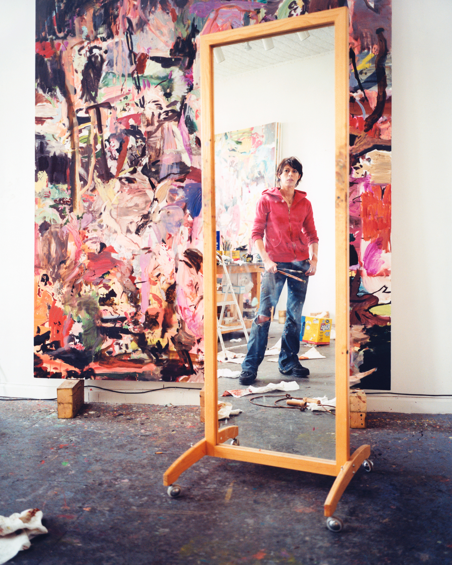 CECILY BROWN//I-D