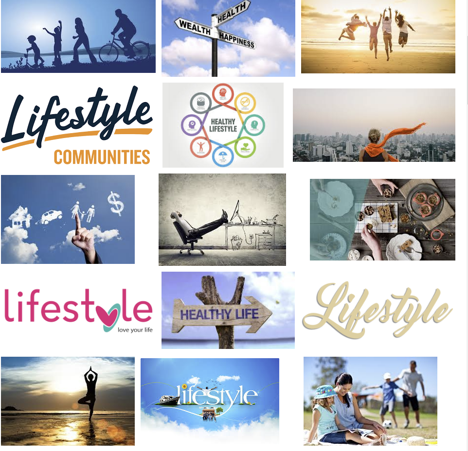 """This is what comes up in a Google Image search for """"lifestyle"""". Perfect demonstration: lots of content, zero useful information. Barf."""