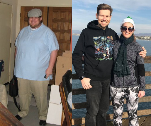 On the left, my 26th birthday. On the right, Christmas 2017. Me on the left weighed more than the two on the right combined.