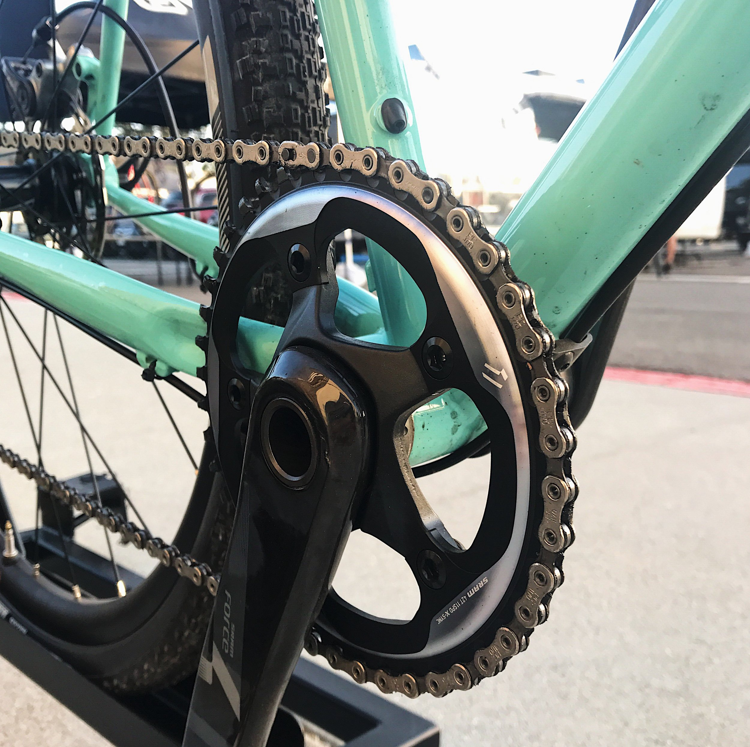 equipped with SRAM Force 1