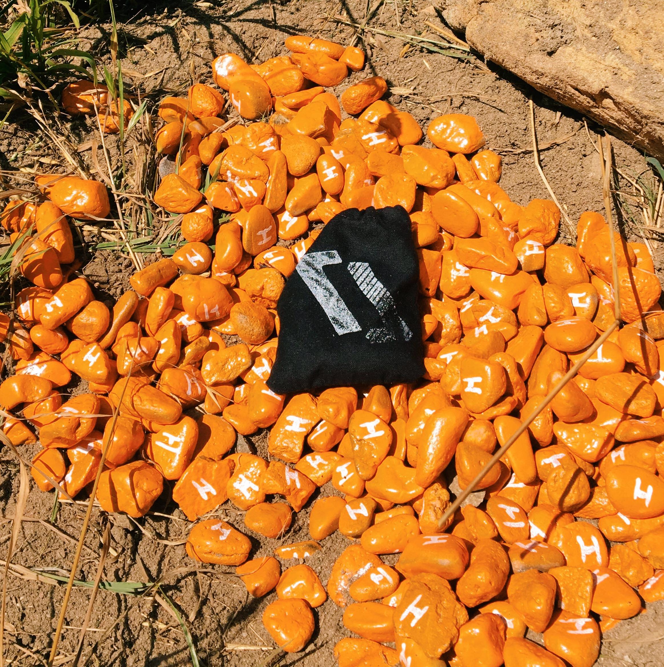 hunt of the north_orange gravel.JPG